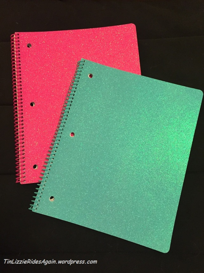 Which glitter notebook do I use?!
