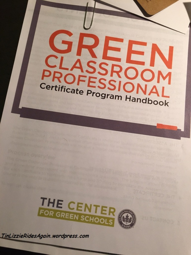 """New Buildings in Arlington must be Silver Level LEED, but that doesn't mean I can't learn what they consider a """"green school"""""""