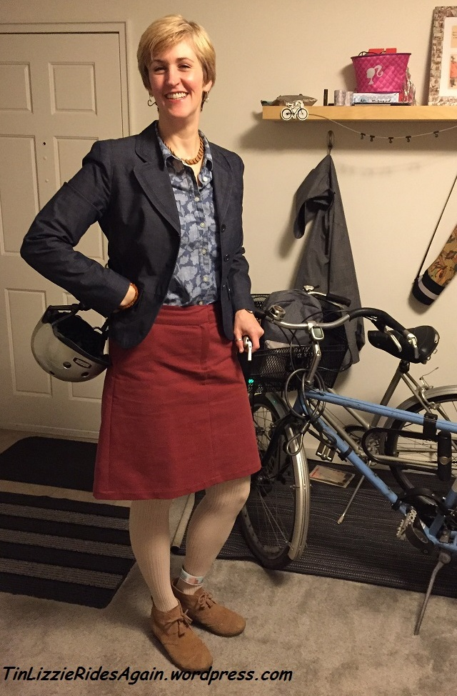MeMade Challenge Day 1 - McCalls 6361 Skirt