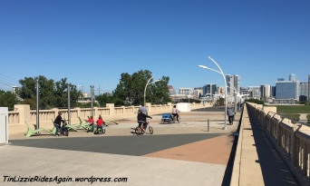 Dallas Pedestrian Bike Bridge