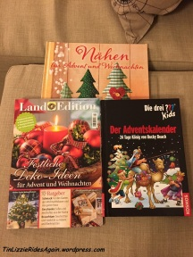 A wonderful Advent calendar and some Christmas craft magazines, yay!