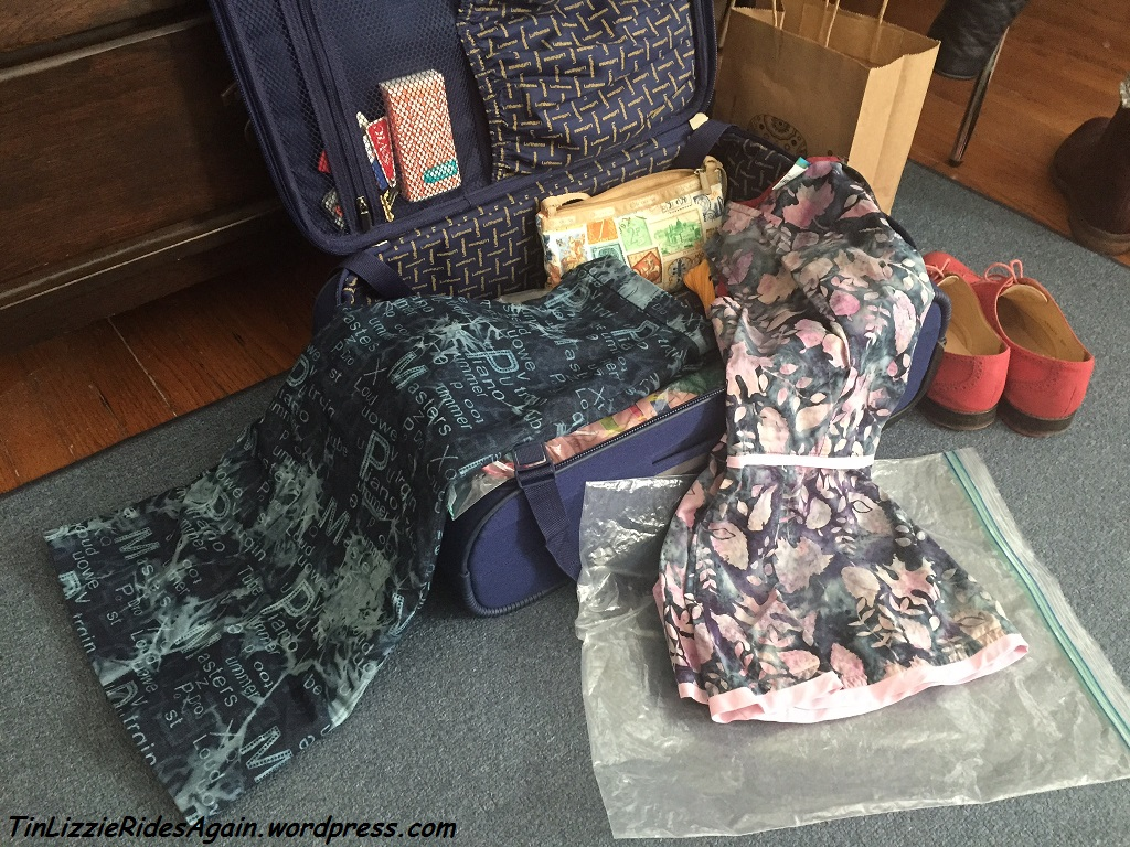 Proof of good sewing projects - ones you want to take on trips