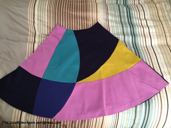 This is the Boden skirt that inspired my color blocked dress that I made this fall. The skirt was on clearance so I ordered it. I love it! Last purchase, I promise!!!