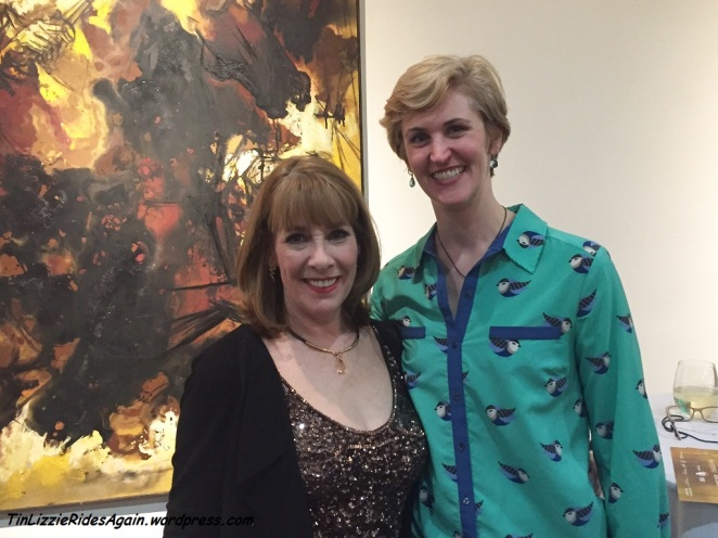 With Phyllis Logan (Mrs. Hughes)