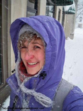 2010 Snowmageddon Selfie
