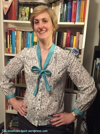 Simplicity 1779 bow blouse
