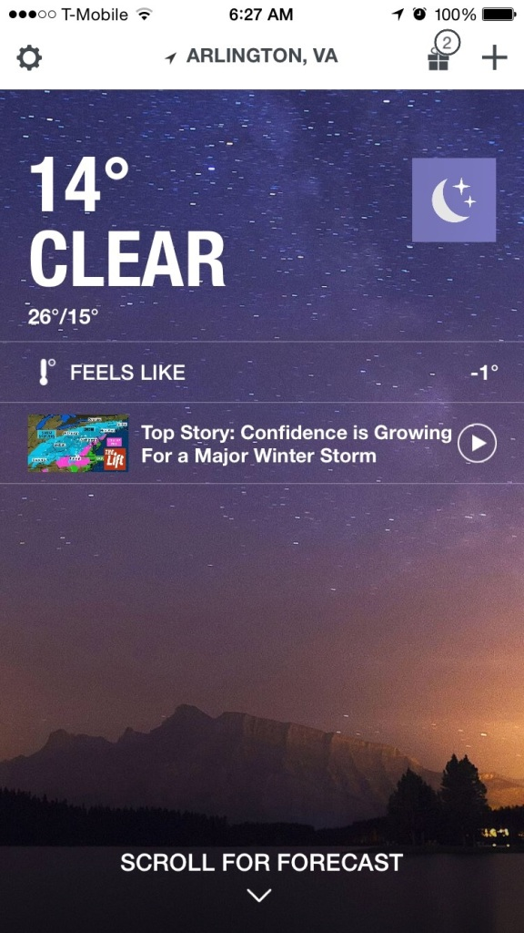 "I draw the line with the ""feels like"" is below 0*F and I don't care if you call me a wimp."
