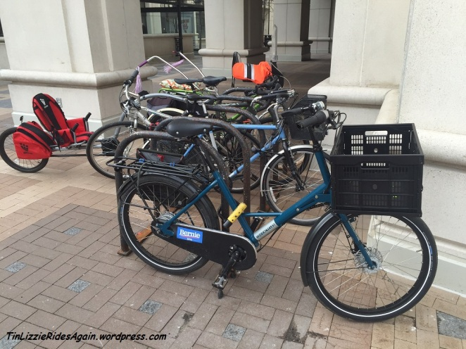 Bicycle advocacy at work!