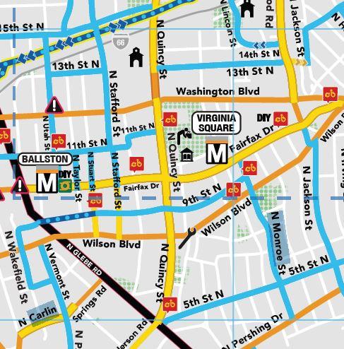 Comfort Map Quincy