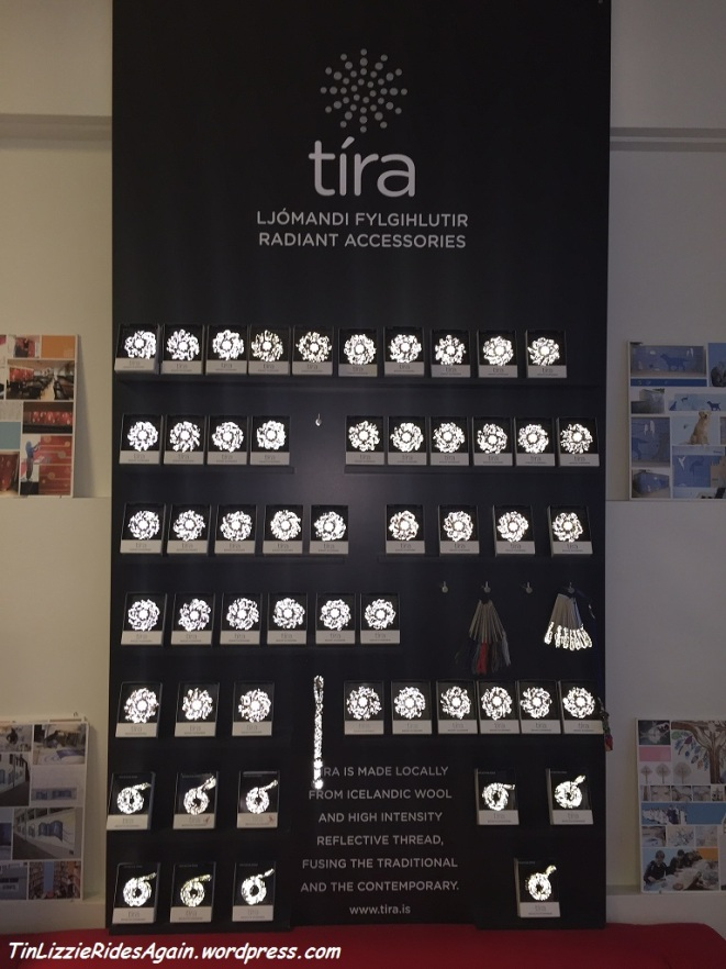A whole wall of reflective accessories!!!