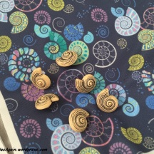 I even found matching fossil buttons!