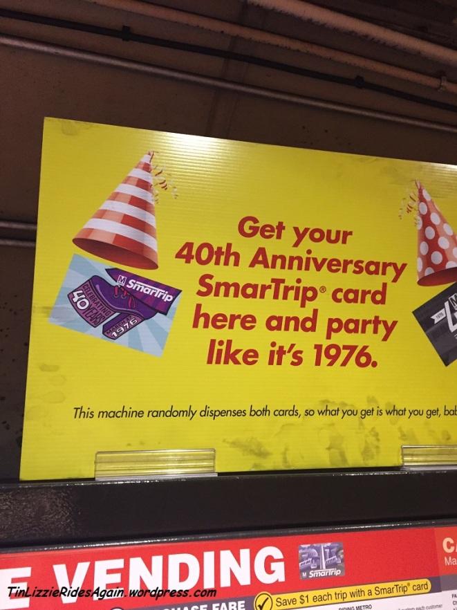 Platform Shoe Metro Card