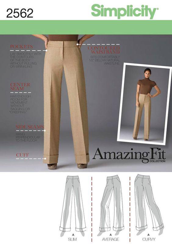 Simplicity 2562 Pants