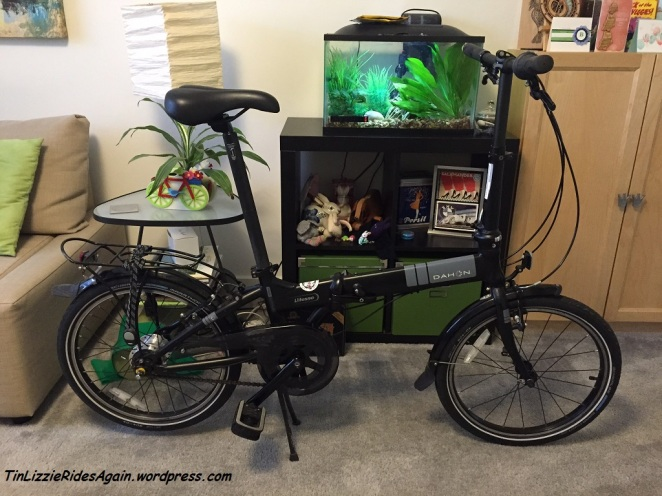 The Dahon is too new to even have a name, let alone a personality.