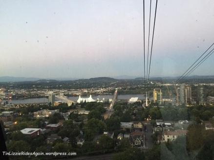 Aerial Tram View