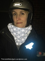 And the neck warmer reflecting!