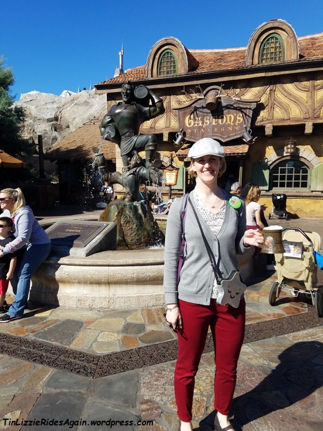 Of course we had to visit Gaston's Tavern!