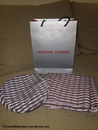 Dashing Tweed Purchases reflecting
