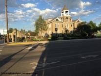 Bike lanes in front of Enterprise City Hall