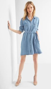 Gap Tencel Dress