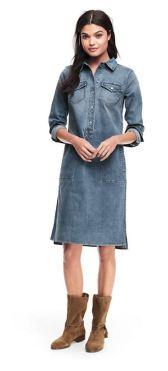 Lands End Denim Dress