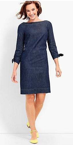 Talbots Sleeve Tie Dress