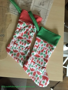 And the stockings turned out super cute. I may need to make more!