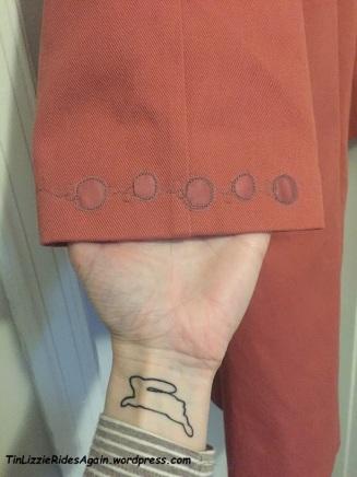 Simplicity Coat Cuffs