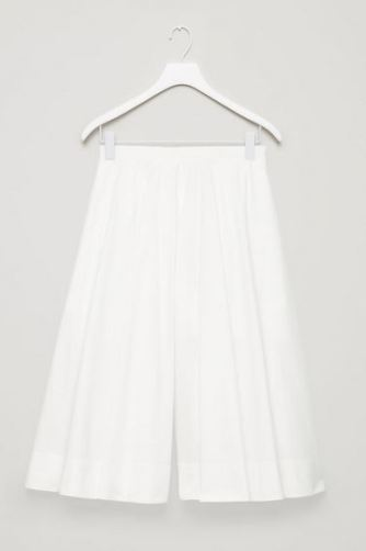 COS Wide Leg Culottes, split visible