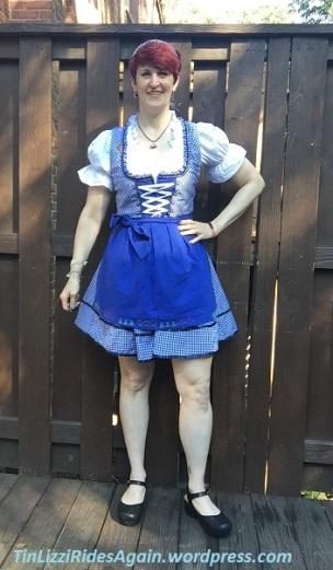 On my way to Oktoberfest!