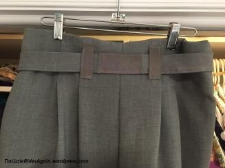 Gray Paperbag Pants 5