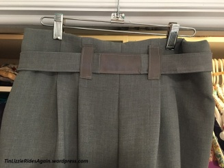 Gray Paperbag Pants 5