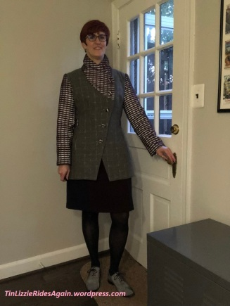 Dashing Tweeds Coat Reflecting