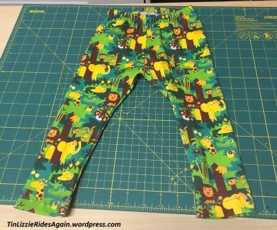 jungle baby leggings