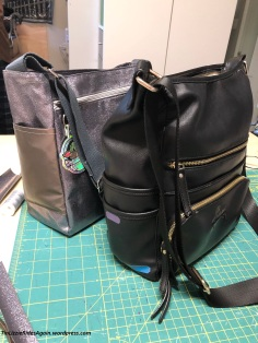 Inspiration black bag with completed new bag